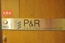 P & R Kwok Holdings Ltd.